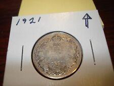 1921 - Silver - Canadian quarter - Canada 25 cents