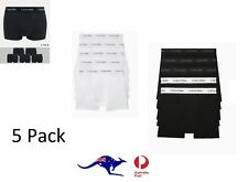 5 Pack CALVIN KLEIN Mens NB1429 Underwear Cotton Classics Trunk  Wh/Gy/Blck