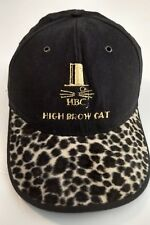 "HBC ""HIGH BROW CAT"" Cap w/ Leopard Print Bill Adjustable"