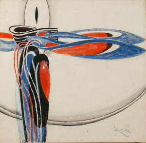 Frantisek Kupka Untitled 3 Poster Reproduction Paintings Giclee Canvas Print