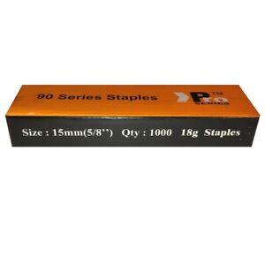 90 Type Staples 1000 x 15mm