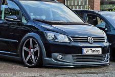 SPOILER spada FRONT SPOILER cuplippe da ABS per VW Touran Cross 1t3 con ABE