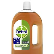 Dettol Original Liquid Antiseptic Disinfectant for First Aid, 750 ml
