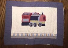 Pbk Pottery Barn Kids Train Railway Express Train Standard Pillow Sham Cover