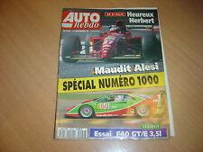Auto hebdo N°1000 Ferrari F40 GT/E.Gp d'Italie.
