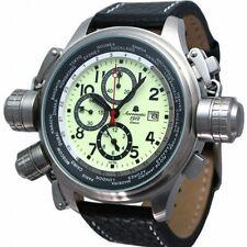 German XXL WORLDTOUR ALARM Precision Chronograph Aeromatic 1912 A1404