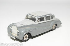 DINKY TOYS 150 ROLLS ROYCE SILVER WRAITH TWO TONE GREY EXCELLENT CONDITION