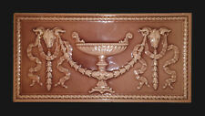 "The Trent Tile Co. - c.1885 - Classical Majolica Mantel Plaque - 18"" x 9"" x 1"""