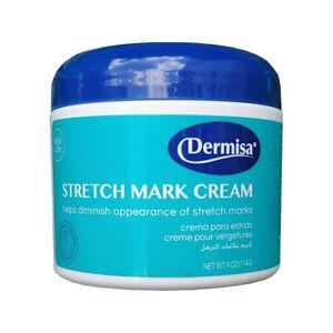 Dermisa Stretch Mark Repairing Cream. Pregnancy Marks & Scars Removal. 4 Oz