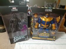 Marvel Legends The Infinity Gauntlet Thanos & Fallen Silver Surfer LOT OF 2 NEW