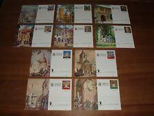 Spanje / Spain - 10 Briefkaarten / Postcards - Volledig blanco / Full blanc