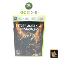 Gears of War  (2006)  Xbox 360 Video Game Case Manual & Disc Tested Works