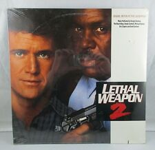 Sealed Lethal Weapon 2 Soundtrack Vinyl Record 9 25985-1 Clapton Harrison