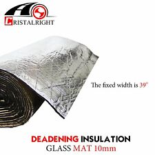3/8'' Heat Insulation Shield Soundproof Noise Self-adhesive Material Mat 12