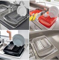 Addis Plastic Dish Drainer Plate & Cutlery Rack Holder Kitchen Sink Tidy Storage