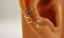 Gold Filled Ear Cuff Wrap Cartilage Spiral