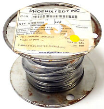 PHOENIX/EDT RG 174/U.50 COAX CABLE 26 AWG, 7 STR BARE COPPERWELD, SPOOL OF 100FT