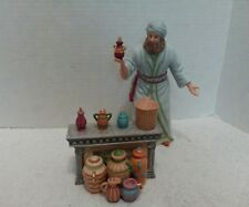 Lenox Renaissance Perfume Seller At The Bazaar Nativity Set Retired