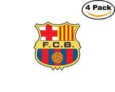 FC Barcelona Spain Club Soccer FC 4 Sticker 4X4 Inches