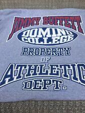 jimmy buffett Domino college athletic tour 1995 shirt Large