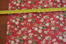 By 1/2 Yd, Tan Green Red Quilting, Marcus/Home for the Holidays/Burgos/1817 B647