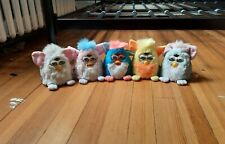 Vintage Lot of 5 Furby 1999 Tiger Toys Tomy Tested all Working! Furby babies
