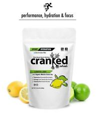 Cranked Naturals Sport Hydration Lemon-Lime Matcha 32oz, 30 serv, 22 mg caffeine