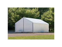 ShelterLogic Canopy Enclosure Kit, 18x30-Feet, White