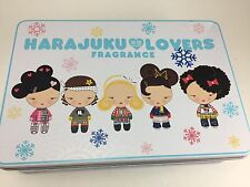 HARAJUKU LOVERS TIN WITH HELLO KITTY JEWELRY AND OTHER JEWELRY PIECES AND PINS