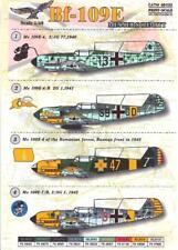 Print Scale Decals 1/48 MESSERSCHMITT Bf-109E German Fighter Part 2