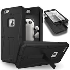 iPhone 8 / 7 / 6s / 6 Plus TOUGH Case Built Screen Stand ARMOR Cover for Apple