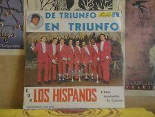 LOS HISPANOS, DE TRIUNFO EN TRIUNFO - COLUMBIA LP 300607