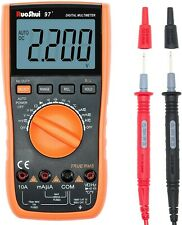 RuoShui 97+ Digital Multimeter True RMS 4000 Counts Volt Amp Meter, Auto Ranging