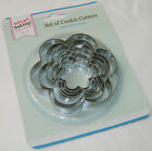 6 Stainless Steel Biscuit Cookie Pastry Cutters Round Shape Pms