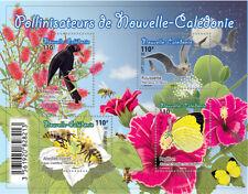 caledonia 2018 caledonie bird bee bat butterfly flower tree ms4v mnh