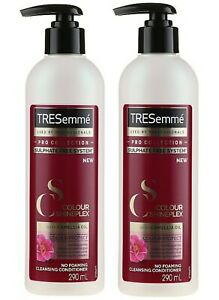 2 X TRESemme Cleansing Conditioner Colour Protect Sulphate Free 290ml/Each
