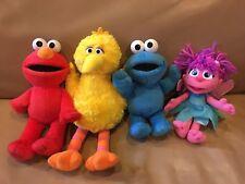 Sesame Street Plush Gund Fisher Price Big Bird Elmo Cookie Monster Abby Cadabby