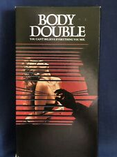 Body Double VHS Thriller