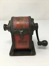 Vintage Dexter Manual Pencil Sharpener No.1 Old Antique Rare Hand Crank