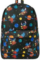 Disney Lilo and Stitch Backpack Bag Stitch Alien Space Loungefly NEW