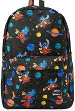 Disney Lilo & Stitch Backpack Bag Stitch Alien Space Loungefly NEW