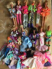 Barbie Konvolut Rockers Ken Teresa Christie Kleidung Vintage 80er 1980 ANSEHEN!