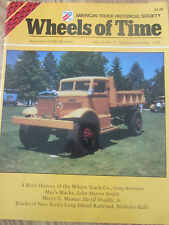 Wheels of Time - Truck Historical Society Journal - History of Wilcox Truck Co.