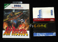 AIR RESCUE Master System Versione Europea PAL ••••• COMPLETO