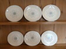 More details for johnson brothers set of 6 salad plates, floral kaleidoscope, jb832