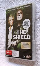 THE SHIELD - THE COMPLETE FOURTH SEASON  (DVD, 4-DISC) R-4, LIKE NEW, FREE POST