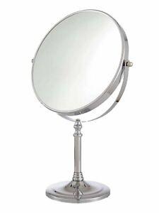 Cooke & Lewis Harlech Freestanding Round Bathroom Mirror (H)345mm x  (W)225mm