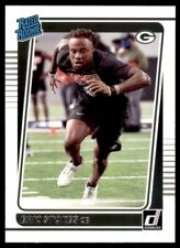 2021 Donruss Base Rated Rookies #343 Eric Stokes - Green Bay Packers