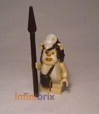 Lego Logray Ewok from Sets 7956 Ewok Attack + 10236 Ewok Village Star Wars sw338