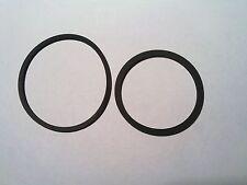 Lot 2 courroies pour platine vinyle SANSUI PL40 PL50 P-L40 -L50 bras tangentiel